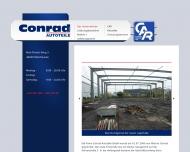 Website Conrad Autoteile