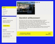 Bild Webseite Graweco Logistik Hamburg