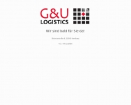 Bild Webseite G & U Logistics (Germany) Hamburg