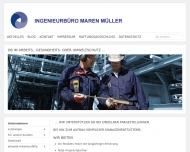 Website Ingenieurbüro Maren Müller