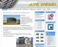 Bild Webseite  Wesel