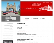 Website Haferkamp Projekt