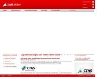 Bild Webseite Hafen Halle Halle