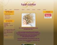 Bild Webseite Haar-Center G+L München