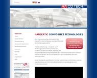Bild Webseite Hacotech Hamburg