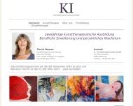 Bild Webseite KI Kunsttherapie Institut München