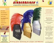Bild Webseite Kinderreigen Hamburg