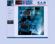 Bild Webseite K.L.P. Metall-Innovationen Etzbach