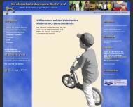 Bild Webseite KINDERSCHUTZ-ZENTRUM BERLIN Berlin