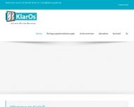 Bild Webseite KlarOs® Dienstleistungs Berlin