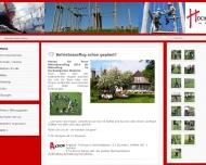 Bild Webseite Hochseilgarten Malente Beteiligungs Malente