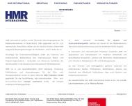 Bild Webseite HMR Produktion Köln