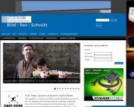 Bild Webseite Ingeborg Weber Verlag Film- und TV-Kameramann München