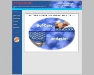 Bild Webseite INVATECH Gesellschaft für fortschrittliche Medizintechnik Hamburg