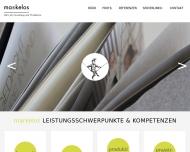 Bild Webseite Markelos Nürnberg