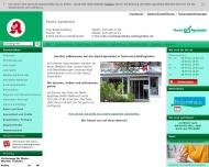 Bild Webseite Markt-Apotheke Brigitte Hall-Kesting Dortmund