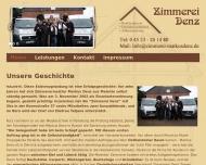 Bild Webseite  Malente