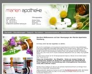 Bild Webseite Marien-Apotheke Björn Schrage Hamburg