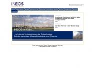 Bild Webseite INEOS Köln Köln
