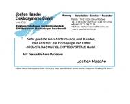 Bild Jochen Hasche Elektrosysteme GmbH