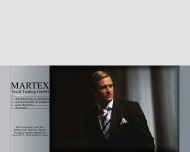 Bild Webseite Martex Textil Trading Köln