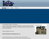 Bild Webseite MAS Immobilien Management Mannheim