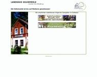 Landhaus Selkem?hle in M?gdesprung Harzgerode im Selketal im Harz - Hotel, Unterkunft, Restaurant, G...