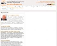 Bild Webseite Prof .Dr.-Ing. W. Wittke Beratende Ingenieure für Grundbau u. Felsbau Aachen