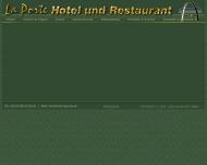 Bild Webseite La Porte Hotel und Restaurant Tangerhütte