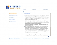Website Liefeld Real Estate