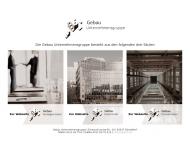 Bild Webseite Lindner Architekten Düsseldorf