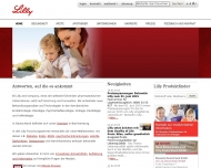 Bild Webseite Lilly Pharma Produktion Norder-Friedrichs-Koog