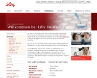 Website Lilly Pharma Produktion