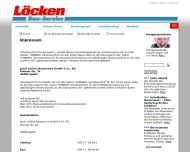 Website Löcken Baustoffe & Baumarkt