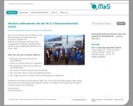 Bild Webseite M & S Wäschereitechnik Laubach