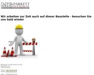 Bild Webseite MG Parkett-Design Hamburg