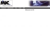 Bild Webseite MIC Managementconsulting München