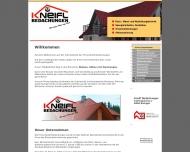 Bild Webseite Michael Kneifl Dachdeckerbetrieb Büdingen