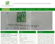 Bild Webseite Müller, Woernle & Neumann Rechtsanwälte Karlsruhe