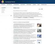 Bild Webseite HM Hospital Management Chrysant von Steinbüchel-Rheinwall München