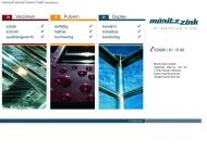 Bild Webseite Müritz-Zink Waren (Müritz)