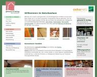 Bild Naturbauhaus gesund & farbig - ökologische Baustoffe und Farben