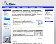 Bild Webseite Nord-Vision IT Solutions Waren (Müritz)