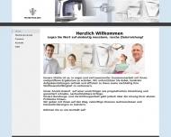 Bild Webseite Northlog Hamburg
