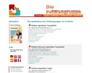 Bild Webseite Pelikan-Apotheke Inh. Rolf Spielberger Berlin