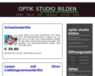 Bild Webseite optik studio bilden Berlin