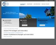 Bild Webseite P+R Park & Ride München