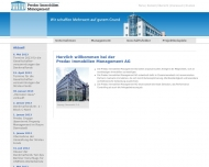 Bild Webseite Predac Immobilien Management Berlin