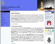 Bild Webseite Hamburger Schachklub von 1830 Hamburg