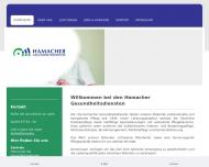 Bild Webseite Hamacher & Schmitt Köln